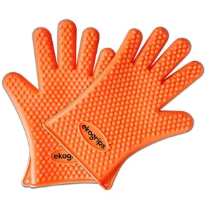 Ekogrips grilling and cooking silicon gloves
