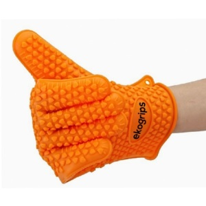 silicon heat resistant cooking gloves
